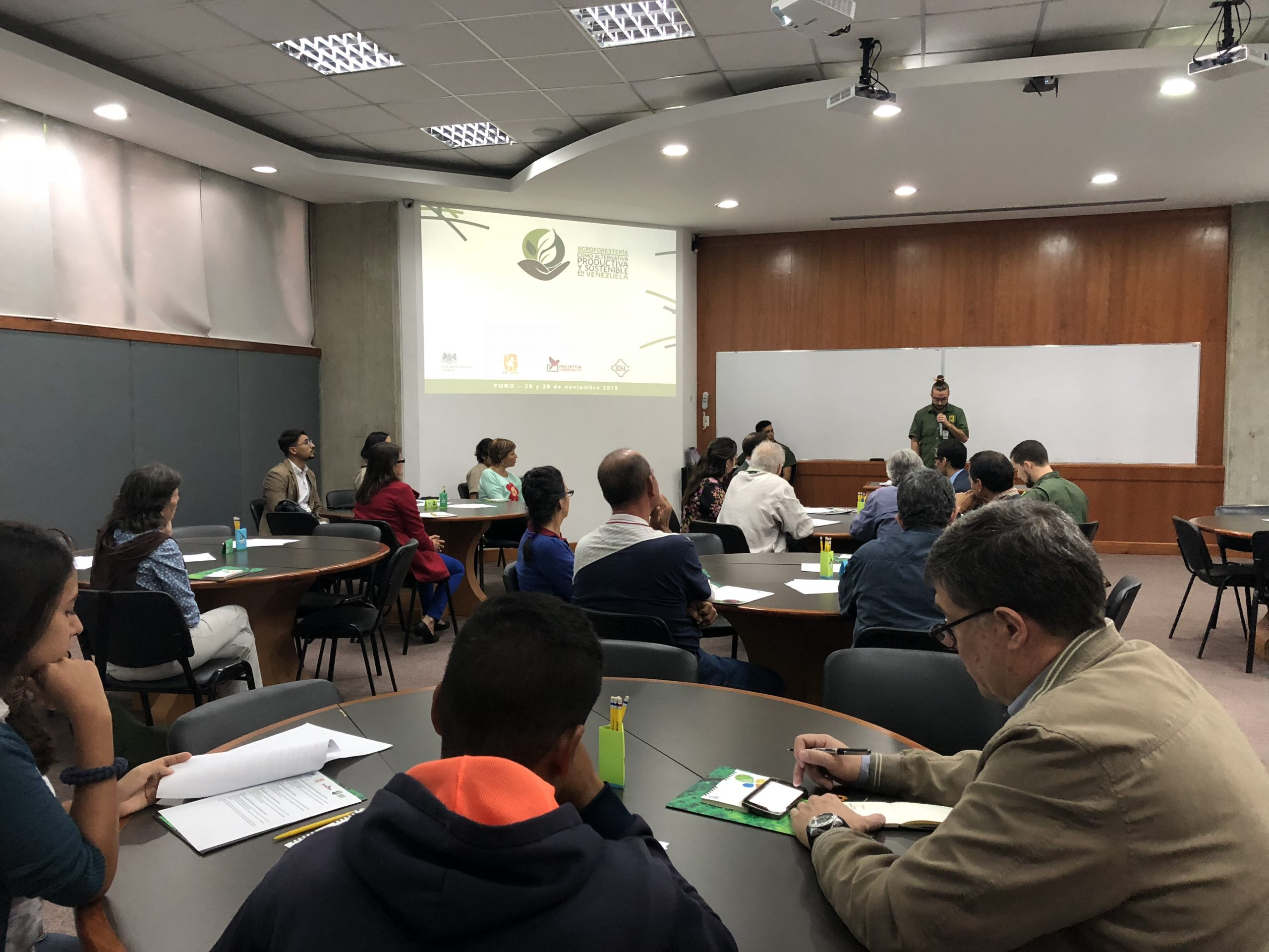 """The British Embassy in Caracas supports the forum, """"Agroforestry as a productive and sustainable alternative in Venezuela"""""""