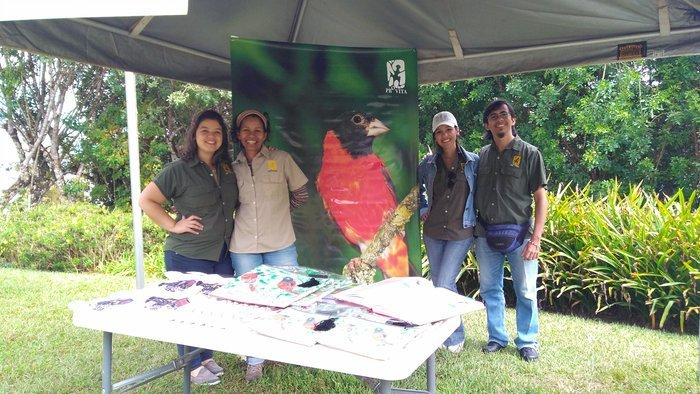 The Red Siskin Initiative invited to family Sunday at Caracas' ecological gardens, Topotepuy